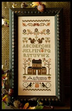 New fall pattern by LHN. Love autumn samplers.