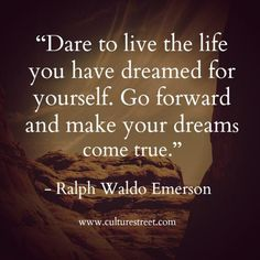 Culture Street | Quote of the Day from Ralph Waldo Emerson