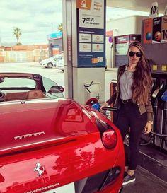 Ferrari California, Convertible, Bmw, Vehicles, Girls, Toddler Girls, Infinity Dress, Daughters, Maids