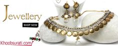 #Online_Shopping #Shopping_Online @ Khoobsurati.com Get Upto 20% Off On #Necklaces http://khoobsurati.com/women/jewellery/necklaces