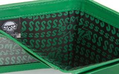 J!NX : Minecraft Creeper Face Leather Wallet - Clothing Inspired by Video Games & Geek Culture