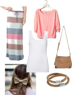 Summer Evening, created by stephaniejsteiner on Polyvore