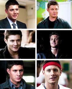 I never thought smirks would make me weak....(gif set) Dean Smirking
