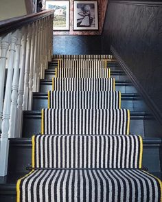 """Sandra Baker Interior Styling on Instagram: """"Morning! Just a quickie to say there's no blog this week ('we hadn't noticed' - everyone ). At the time I started the blog I hadn't…"""" Architecture Restaurant, Interior Architecture, Restaurant Design, Foyers, Black Stairs, Black Painted Stairs, Edwardian House, Georgian House, Victorian Houses"""