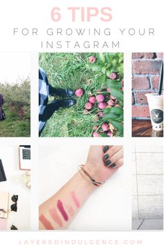 I remember when my sister first introduced me to Instagram. We used it to find pretty photos we could use for the backdrops of our phones. Fast forward to a few years later and it has evolved into a creative platform I use on the daily to connect with like-minded people and share snippets of my everyday life. A question I get asked a lot is how to grow your Instagram followers, so I've rounded up some of my best tips!