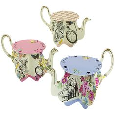 Party Ark's 'Alice in Wonderland Tea Pot Cake Stands'
