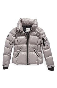 fa6f75c15 Moncler 'Iraida' Water Resistant Hooded Down Puffer Jacket (Toddler ...