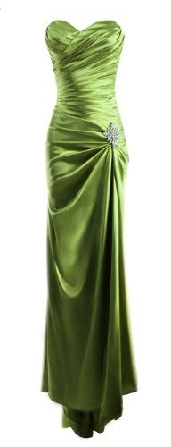 Fiesta Formals Strapless Long Satin Bandage Gown Bridesmaid Dress Prom Formal Crystal Pin - Green - S Fiesta Formals,http://www.amazon.com/dp/B00DNKI6LE/ref=cm_sw_r_pi_dp_BSVasb07JB5XFDRB
