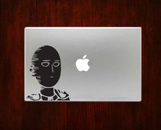 Saitama Japan Anime Manga One-Punch Man Decal Sticker For Macbook 13 Pro Air #RusticDecal