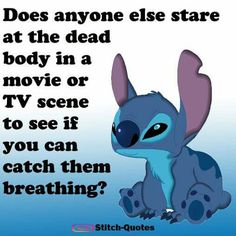 Lilo and Stitch quote Funny True Quotes, Funny Relatable Memes, Cute Quotes, Funny Texts, Lilo And Stitch Memes, Stich Quotes, Lelo And Stitch, Funny Disney Jokes, Hilarious