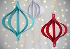 it's oh so grand.: DIY Modern Holiday Decorations