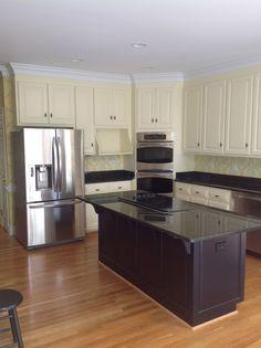 Kitchen Cabinet Refinishing Refinish Cabinets Refacing Remodel Oak