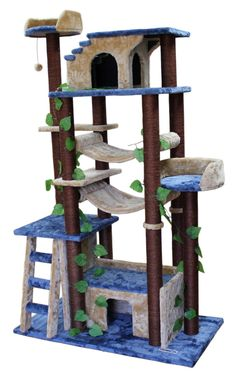 Kitty Mansions Amazon Cat Tree $304.96