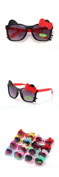 2016 Fashion Girls Sunglasses Cute Cartoon Summer Kids Eyewear For Girls UV400 Sun Glasses $3