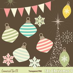 Hey, I found this really awesome Etsy listing at https://www.etsy.com/listing/213972354/50s-christmas-clipart-volume-3-for-card