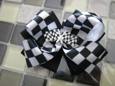 Momma Eva's  Checkered Flag Winner / Racing by MommaEvaBoutique, $4.75