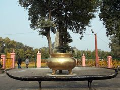 Mahabodhi Temple in Bodh Gaya  where people light Diya (Candle) against their wish