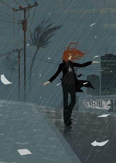 Matthieu Forichon - San Francisco - Rain on me