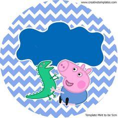 Kit festa Peppa Pig - George - mint_to_be_5: