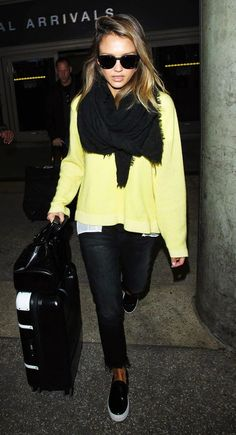 Parisienne: Energize your look with a bright sweater