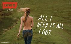 "Levi's ""Go Forth"" Campaign By Ryan McGinley 