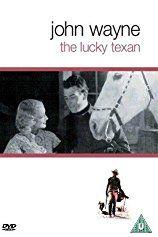 John Wayne and Barbara Sheldon in The Lucky Texan (1934)