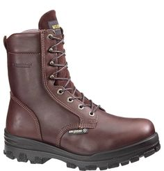 Wolverine DuraShock 8 Inch Steel Toe Waterproof Work Boot W03176