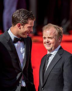 Jamie Dornan Photos - Actors Jamie Dornan (L) and Toby Jones arrive at the…