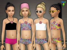 lillka's Stylish in the Sunshine - Bikini the sims resource