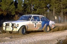 Ford Escort mark II rally car