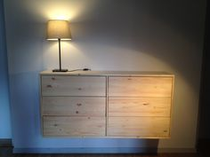 Having been inspired by many other RAST hacks we proudly present our own! Materials: - 2 RAST chest of drawer - 3 BESTA push openers sets - 2 pine wood boards (1225 x 300 x 18 mm) - 1 pine wood beam (888 x 50 x 50 mm) - 2 brackets (50 x 30 mm) [&hellip