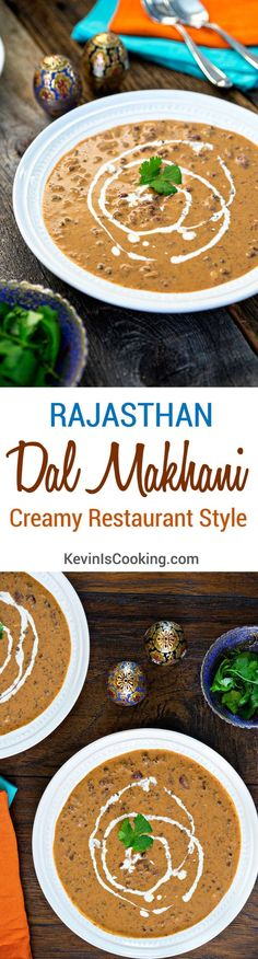 Authentic Creamy Black Lentils - Rajasthan Dal Makhani - Creamy Restaurant Style. www.keviniscooking.com