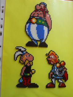 sandylandya@outlook.es Asterix characters hama beads by lise21