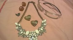 Costume mixed jewelry vintage lot