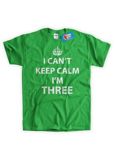 Kids T-shirt Funny Shirt I Can't Keep Calm Im by IceCreamTees