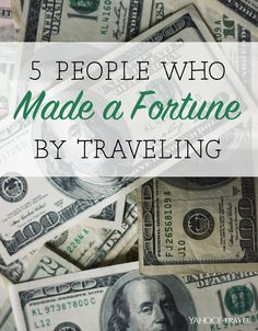 Technology makes it easier than ever to work and make money from anywhere on the globe. These five people have taken full advantage of this fact by building location-independent businesses that have made them a fortune, all while traveling and exploring our wonderful planet.