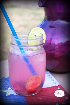Cherry-Lime Flavored Water. Better than soda in more ways than one...