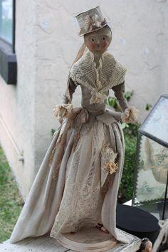 I heart Nicol's dolls! Seen here: * Tongue in Cheek * - Saturday Art Saves: Nicol Sayre
