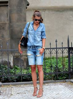 Double Denim      			 by Czech Chicks