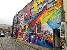 Street Art : Shoreditch - Bricklane , London. Photo by me.