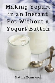 Making Yogurt in an Instant Pot Without a Yogurt Button » Nature Moms