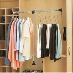Pull Down Closet Rod Handicap Accessible Applications Limited Lifetime  Warranty Minimum Of Closet Depth Required Side Mounted Small Pull Down  Closet Rod ...