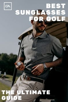 Golf Tips Are you looking for the Best Sunglasses for Golf? Check out our in depth buyers guide to find the best pair of sunglasses for you. Golf Score, Golf Chipping, Golf Instruction, Golf Putting, Golf Exercises, Golf Training, Golf Lessons, Golf Accessories, Golf Fashion