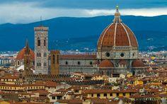 Descargar fondos de pantalla La Catedral de florencia, la Catedral de Santa Maria del Fiore, en Florencia, Italia
