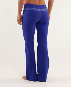 Lululemon Groove Pant. Girl needs some stretchies to get into after all that cheese. #Houlihans #SoWinningThis