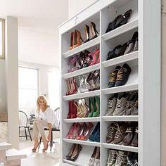 шкаф для обуви для модниц