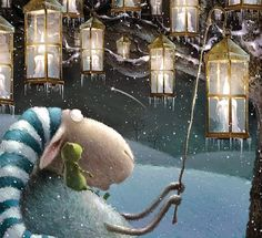 Elina Ellis Illustration: Rob Scotton