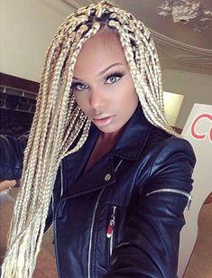 blonde braided beauty