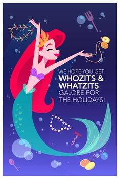 Adorable Disney Holiday Cards