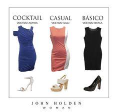 #vestidos #look #estilo #casual #básico #cocktail #elegancia #femenina #fashion  #colección